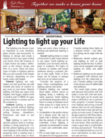 Lighting to light up your Life